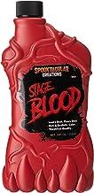 Spooktacular Creations 18 oz Fake Halloween Vampire Blood Bottle for Halloween Costume, Zombie, Vampire and Monster Makeup...