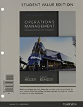 Operations Management, Student Value Edition Plus NEW MyLab Operations Management with Pearson eText -- Access Card Package (11th Edition)