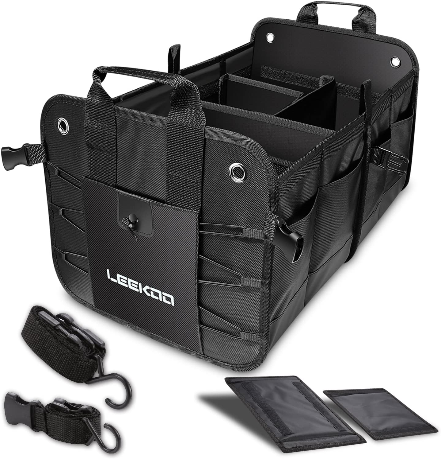 Selling and selling LEEKOO Collapsible Store Portable Multi Organiz Compartments Trunk Car