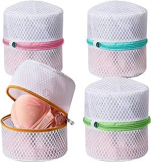 UMI. by Amazon - Sac de lavage de soutien-gorge en nid d'abeille avec fermeture à glissière de qualité supérieure, sac à l...