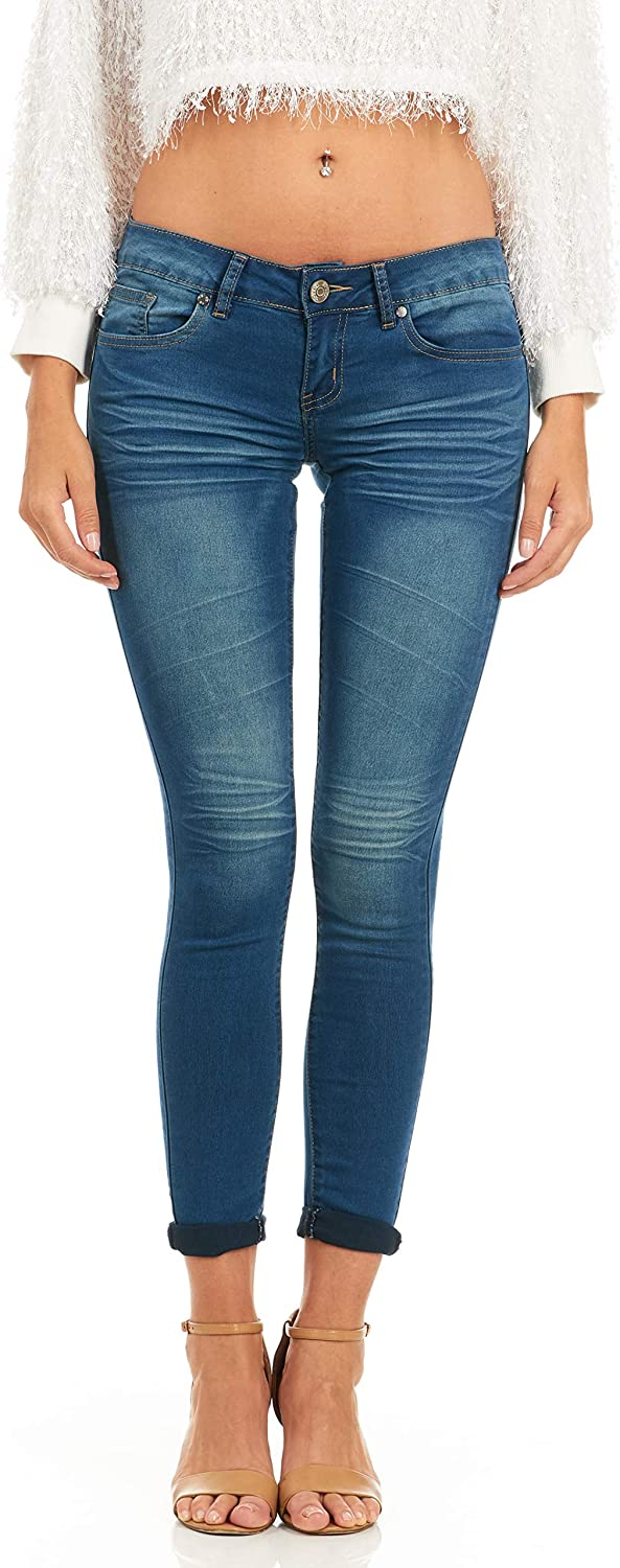 COVER GIRL Denim Jeans for Women, Low Rise Jeans Pants