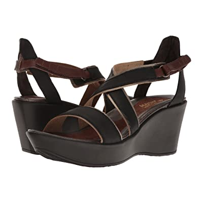 Naot Gesture (Oily Coal Nubuck/Pewter Leather/Brown Haze Leather/Toffee Brown) Women