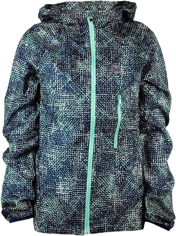 Buff Damen Ultralight Jacket Binning - Farbe  Grün