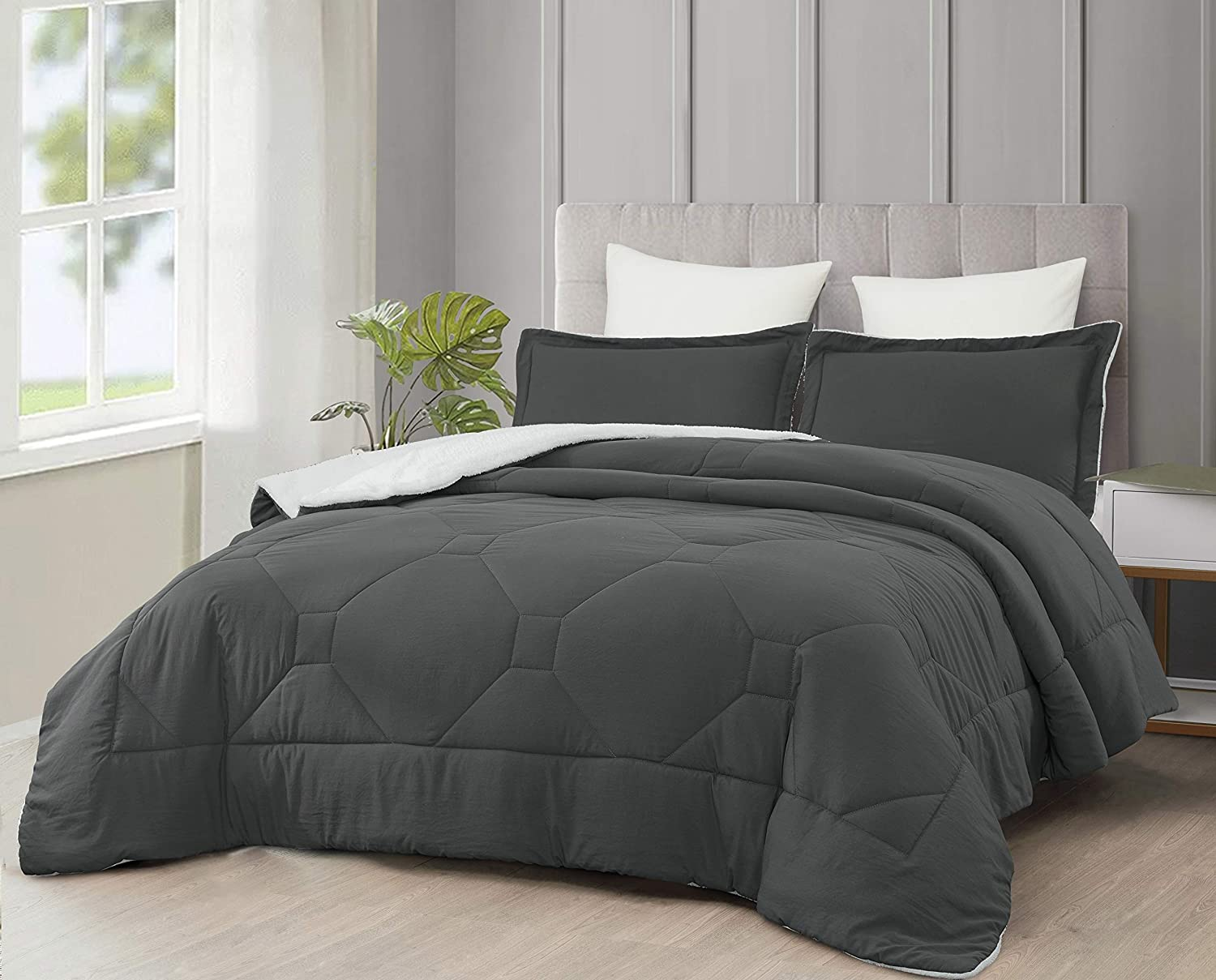 Cozie Nebulous Ultra Soft Max 74% OFF Micromink Sherpa Max 74% OFF Down Comf Alternative