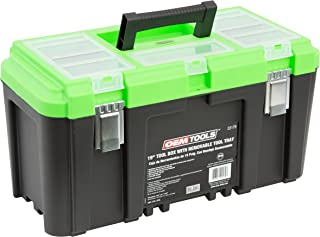 "OEMTOOLS 22179 19"" Tool Box with Removable Tool Tray 
