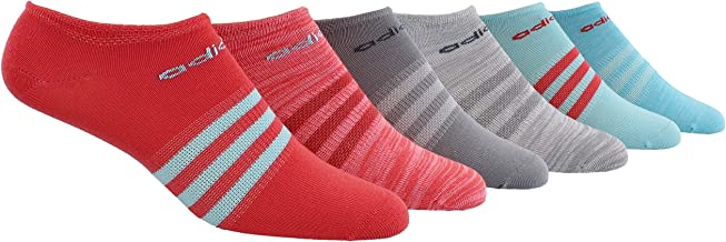 adidas Women's Superlite No Show Socks (6-Pair)