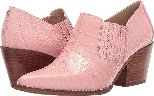 Canyon Pink Kenya Croco Embossed Leather