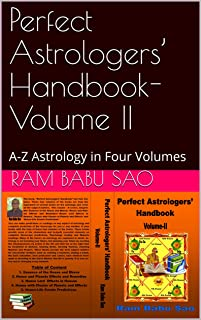 Perfect Astrologers' Handbook-Volume II: A-Z Astrology in Four Volumes (English Edition)