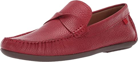 MARC JOSEPH NEW YORK Men's Leather Made in Brazil Plymouth Twisted Driver Driving Style Loafer