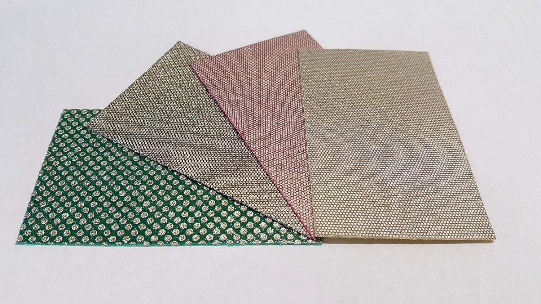 予約販売 KGS PRO-SHEET Diamond Sanding Sheets 90x55mm 4 Pack 買い物 3.5x2 inch.