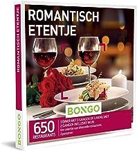 Bongo Bon - Romantisch Etentje   Cadeaubonnen Cadeaukaart cadeau voor man of vrouw   650 sfeervolle restaurants