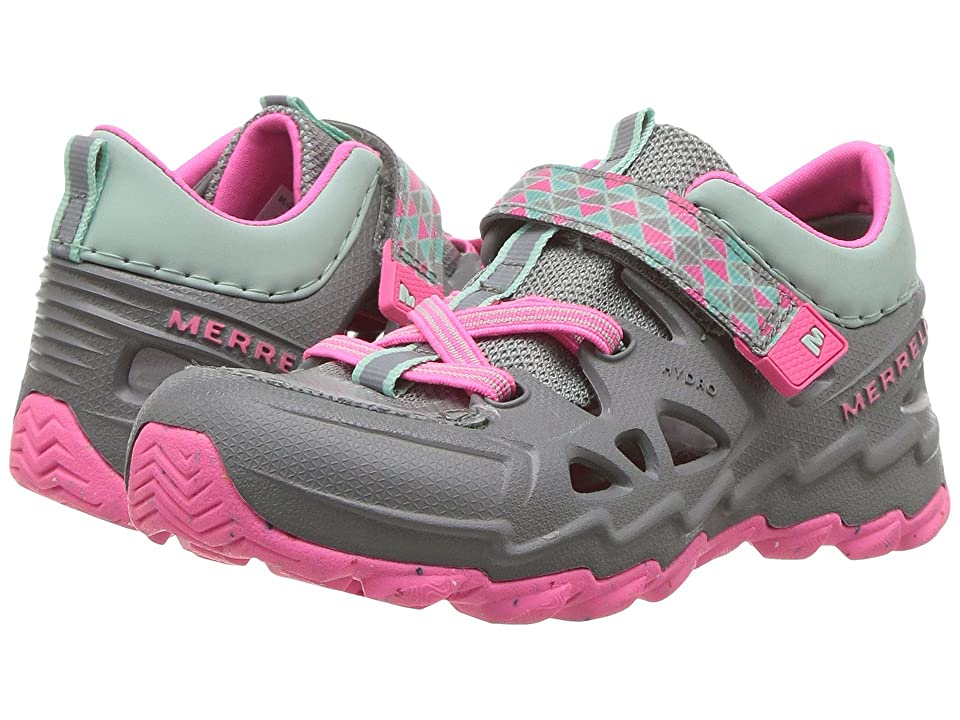 c8058052c096 Merrell Kids Hydro Junior 2.0 (Toddler) (Grey Pink) Girls Shoes