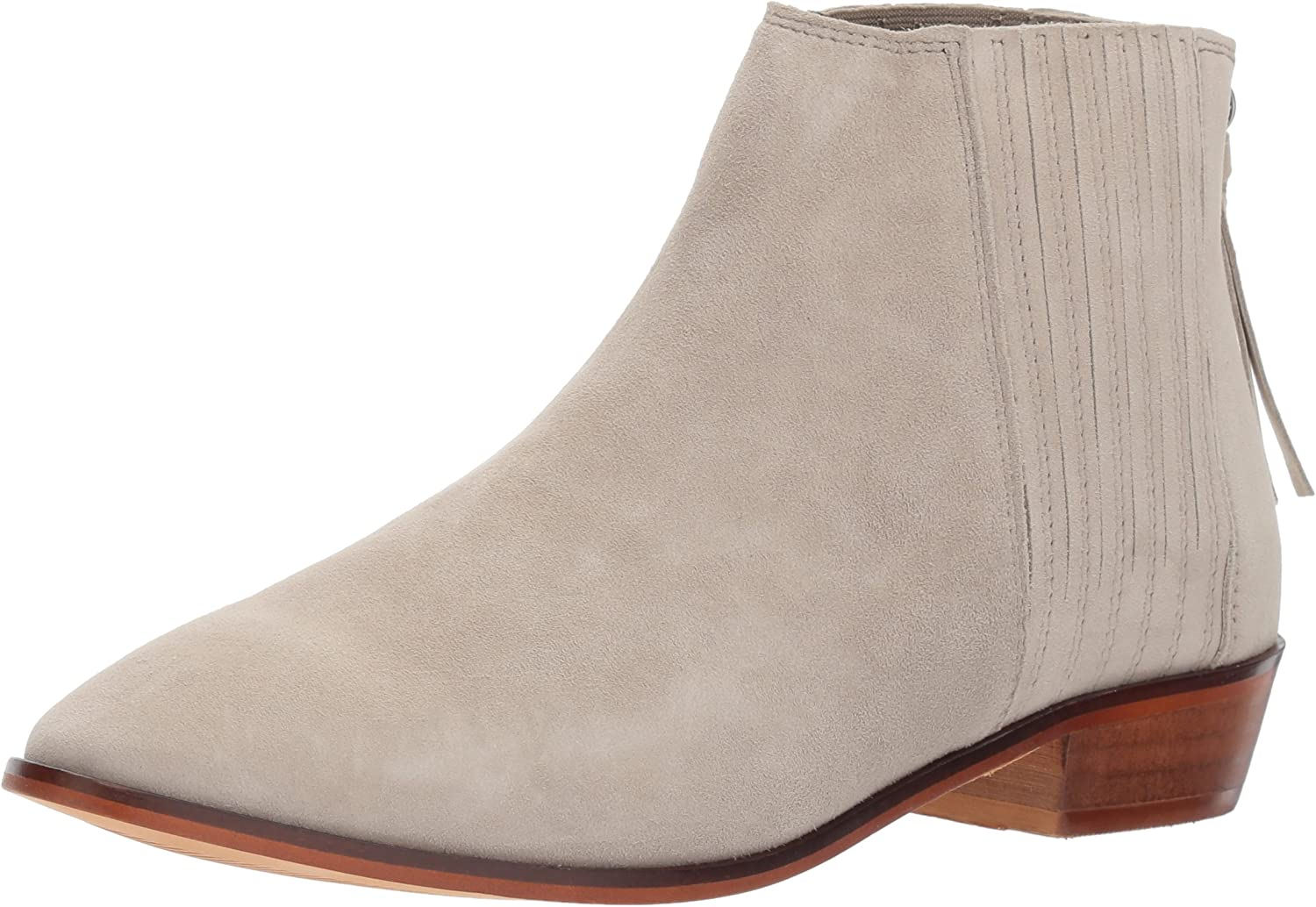 Kenneth Cole REACTION Womens Loop-y Flat Ankle Bootie Finger Gusset Suede Ankle Bootie