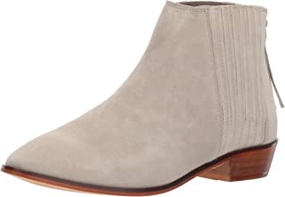 Kenneth Cole REACTION Women's Loop-y Flat Ankle Bootie Finger Gusset Suede
