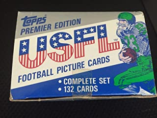 1984 TOPPS USFL FOOTBALL FACTORY SEALED SET 132 CARDS