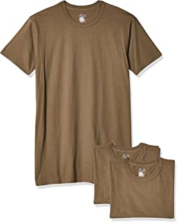Soffe Men's 3 Pack - 100% Cotton Military Tee