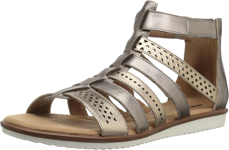 Clarks Womens Kele Lotus Sandals