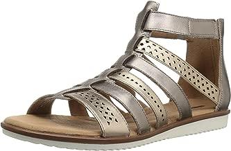 lotus silver sandals