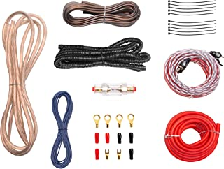 $25 » BOSS Audio Systems EK8 8 Gauge Amplifier Installation Wiring Kit - A Car Amplifier Wiring Kit Helps You Make Connections a...