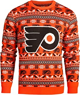 FOCO NHL Mens 2016 Aztec Print Ugly Crew Neck Sweater