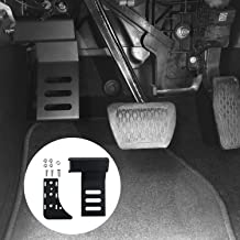Jeep Wrangler JL Driver Side Dead Pedal Black Metal Foot Rest Kick Panel