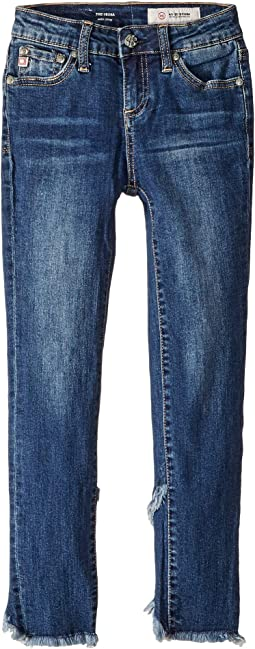 "23"" Tulip Ankle Skinny Jeans in Vintage Sky (Big Kids)"