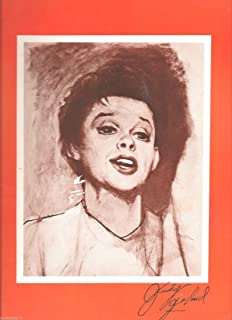 """""""Live in Concert"""" JUDY GARLAND at Palace Theatre 1967 Broadway Souvenir Program"""