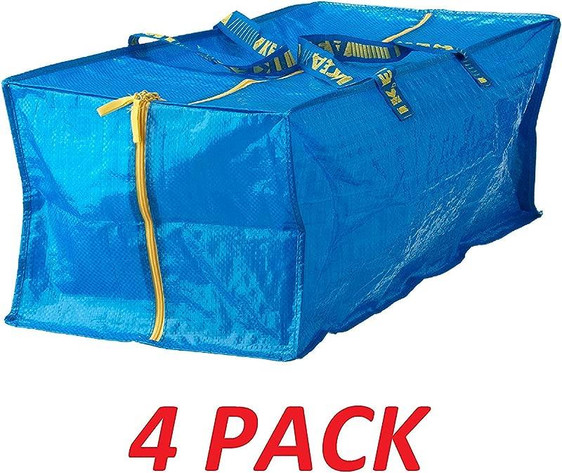 Ikea 901 491 48 Frakta Storage Bag Blue 4 Pack