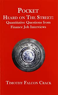 Pocket Heard on the Street: Quantitative Questions from Finance Job Interviews