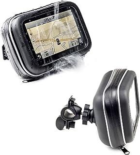 Digicharge motorcykelstyre cykelmonteringshållare med vattentätt fodral för TomTom GO LIVE Camper & Caravan GO Live 1005 G...