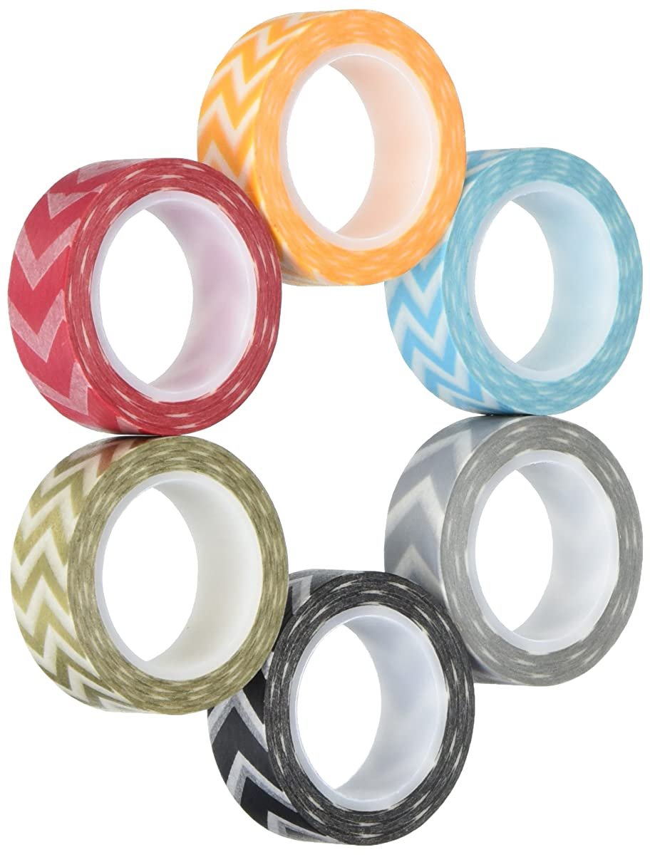 Wrapables VPK15 Premium Value Pack Japanese Washi Masking Tape Collection, Set of 6