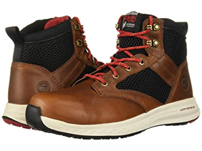 Timberland PRO Drivetrain SD35 Mid Composite Safety Toe SD (Brown) Men