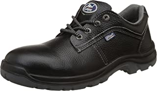 Allen Cooper AC-1285 Safety Shoe, Double Density DIP-PU Sole, Black, Size 9