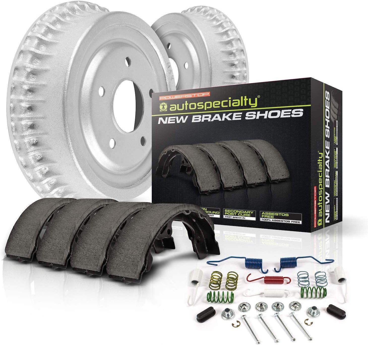 Power Stop KOE15383DK 特別セール品 Autospecialty 人気の定番 Replacement Brake Kit-O Rear