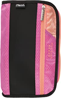 Five Star Pencil Pouch, Pen Case, Fits 3 Ring Binders, Xpanz, Pink/Coral (50206CD8)