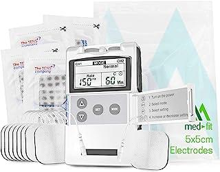 Medfit - Electroestimulador de dos canales. Fácil de usar,