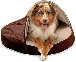 Furhaven Pet - Plush Ergonomic Contour Cradle Orthopedic Foam Mattress Dog Bed for Dogs & Cats - Multiple Styles, Sizes, &...
