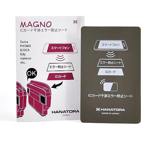 【HANATORA】 ICカード干渉エラー防止シート magno MAGNO