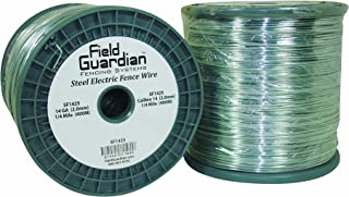 Field Guardian 14-Guage Galvanized Steel Wire, 1/4 Miles, Package may vary