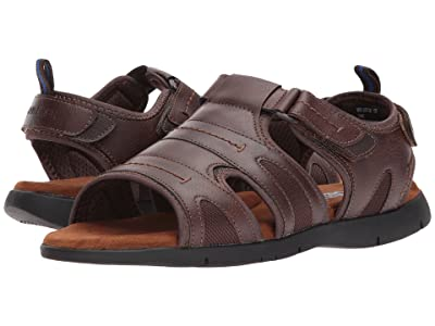 Nunn Bush Rio Grande Fisherman Sandal (Tan) Men
