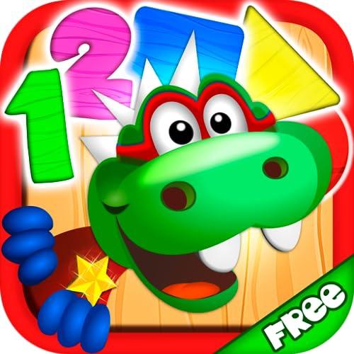 Dino Tim: Juegos educativos para niños de preescolar