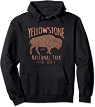 JCombs: Yellowstone National Park, Walking Bison Pullover Hoodie