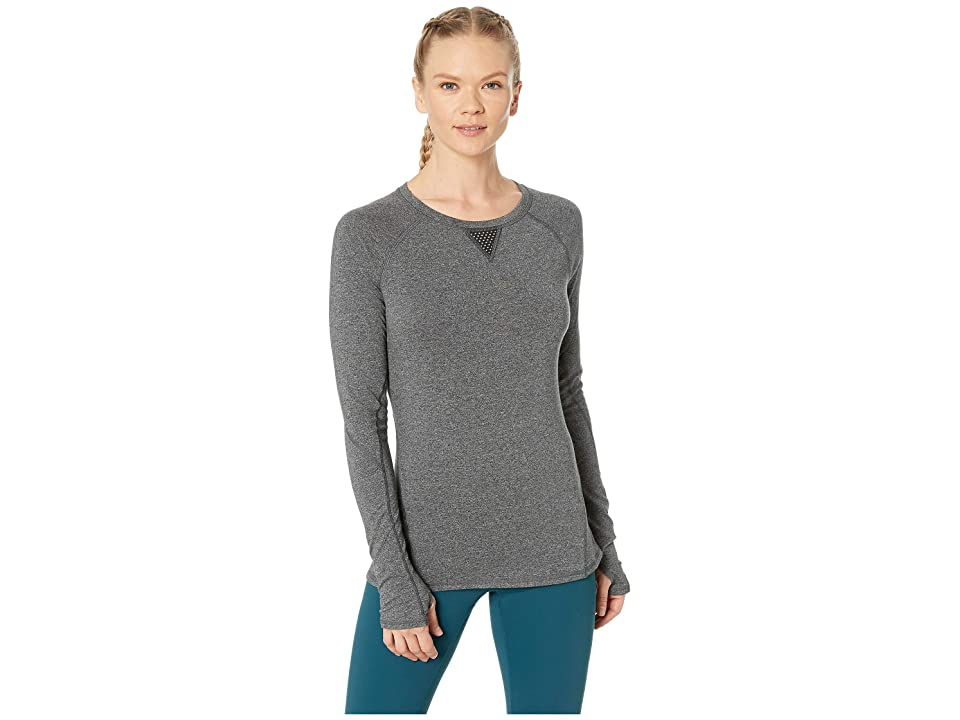 SHAPE Activewear Movement Tee (Charcoal Heather) Women