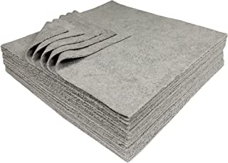 Udderly Clean Antimicrobial Silver Microfiber Towels Ultra Cut 12 X 12 in. 25Pk