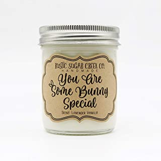 Easter Scented Candle Happy Easter Gift Easter Candle Personalized Easter gift Happy EasteRAWR Soy Candle Gift T-Rex Dinosaur