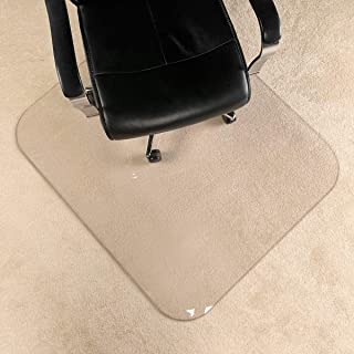 """[UpgradedVersion] Crystal Clear 1/5"""" Thick 47"""" x 40"""" Heavy Duty Hard Chair.."""