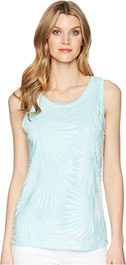 Burnout Jersey Lined Tank Top