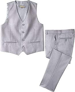 Big Boys' Two-Button Suit Set