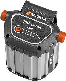 Gardena BLi-18 Batteria di Ricambio per Tagliabordi, Soffiatori e Tagliasiepi, Potenza 18 V, Capacità 2.6 Ah, 9839-20