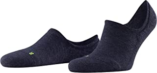 FALKE Unisex Keep Warm Liner Socks Merino Wool Black White More Colours Thermal Warm No Show Hidden In Shoe Plain Colourfu...